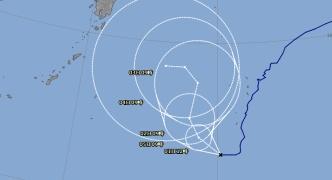 【悲報】台風5号もうむちゃくちゃに進路とる