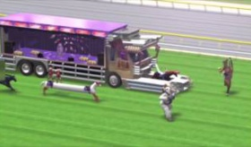 【CG動画】  日本で有名な おもしろ競馬動画に 海外が腹を抱えて大爆笑をしてる模様。   海外の反応