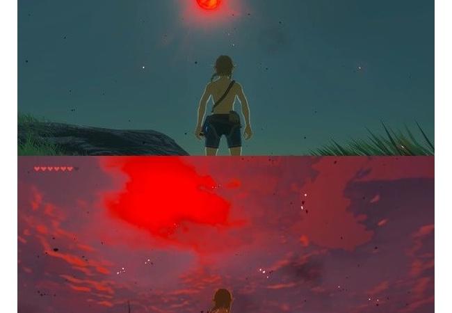 【ゼルダの伝説 ブレスオブザワイルド】雨・赤い月に不満、条件は未だに不明