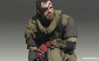Fallout4 MGS5 ビッグ・ボス装備MOD v4.0
