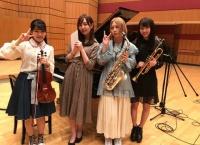 5/4 NHK-FM「クラシック大好きアイドル全員集合!」に高岡薫、古畑奈和、山本彩加、森保まどかが参加!