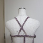 『ベリーダンス衣装 肩紐をバッククロスからホルターへ』の画像