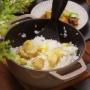 【献立】茹で栗で作る栗ご飯と揚げびたし。~5周年!~