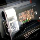 『動画撮影に使っているビデオカメラ』の画像