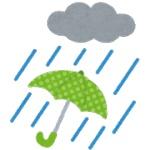 雨の日が好きって言ったら批判された件