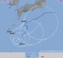 台風10号Uターンか、南で力を蓄え東京に向かうもよう