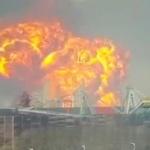 【動画】中国、超巨大爆発!今度は石油化学工場が爆発!大火球が空に広がる! [海外]