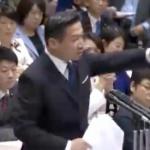 立憲民主・福山哲郎議員「総理が予算委員会に出てこないから、国会が開けない。」