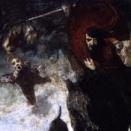 ワイルドハントの絵画11点。北欧神話のオーディンを起源とする天翔ける軍勢