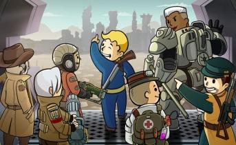 中国版Fallout Shelter 『幅射避難所ONLINE』 でアレンジされたキャラクター達