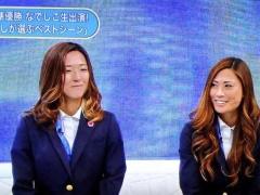 【画像】帰国してテレビ出演してるなでしこ宇津木瑠美が「ギャルすぎる」「巻き髪ゴージャス」と話題にwww