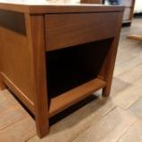 『広島県・イマダのナイトテーブル・IRA・ウォールナットが30000円』の画像