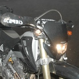『XR250 フロントウインカー換装』の画像