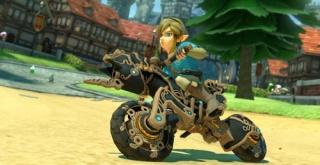 『マリオカート8 デラックス』に『ゼルダの伝説 BotW』の「リンク(英傑の服)」と「マスターバイク零式」が追加!