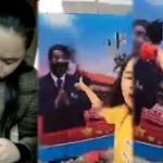 【動画】中国、習近平の顔に墨をかけた女性、再度精神病院に強制連行され監禁される