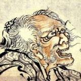 葛飾北斎さん、90歳で頭がおかしくなってしまう・・・