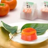 『◇秋の京菓子十撰◇ 愛宕柿の果肉をふんだんに使った秋風味のゼリー「じゅくし柿」【京阿月】』の画像