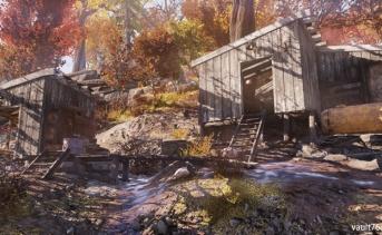 密造酒業者の小屋(Moonshiner's shack)