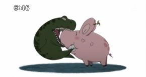 【七つの大罪 戒めの復活】第16話 感想 バンと団長と豚のカービィ