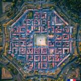 【画像】ヨーロッパの田舎町を上空から撮ったらガチでやばかったwwwwwwww