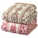 【泉大津産ウール毛布】高品質のウール使用で、優しく…