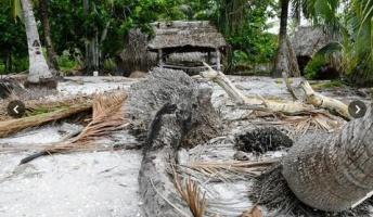 「温暖化で沈む国」のいま…水没にらみ全島移住も