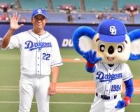 大野「藤川さんと一緒だから背番号22にした」