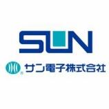 『サン電子(6736)-スパークスアセットマネジメント(処分売り)』の画像