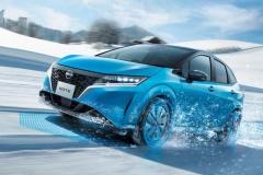 日産、新型「ノート」に4WDが登場! 2モーター方式の「e-POWER」採用