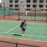 『グアムでテニス』の画像