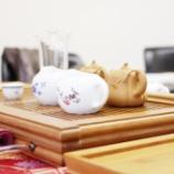 『広島の茶藝師さんに中国茶を煎れてもらうイベントを神戸でしました♪』の画像