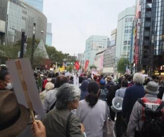 日本中がお祝いムードの中、高齢パヨクが即位式反対デモ 暴れて逮捕者複数 何やってんだこいつら