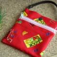 【レシピ】一枚布で作るバッグインポーチ H098-105