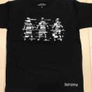 祝花並ぶLINE Cubeの視察と、<Reframe2019>のTシャツ(¥3,000)!
