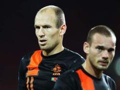 オランダ代表発表、ロッベン&スナイデルはまたも外れる