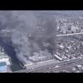 火事だ!船橋の東洋電業株式会社で火災発生!鉄パイプ製造工場で爆発だ。