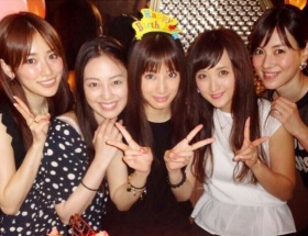 北川景子の誕生日にセーラー戦士集結wwwwwwww