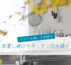 ズボラ主婦|2年も放置し続けたキッチン水廻りのとある場所。