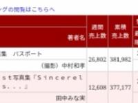 【乃木坂46】白石麻衣『パスポート』、田中みな実を抜き返し首位返り咲き!!!
