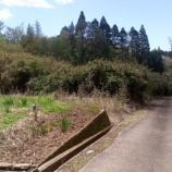 『山武市松尾町山室  農村の片隅で買い手を待ち続ける放棄分譲地』の画像