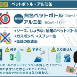 『リサイクルステーション「ecoひろば」に持ち込めるもの』の画像