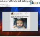 Facebookに「女の赤ちゃん売ります」の広告が掲載される。(米)