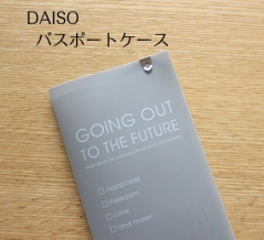 【100均】ダイソーのパスポートケースが毎月の〇〇〇にピッタリでした!