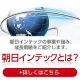 『5%ルール大量保有報告書 朝日インテック(7747)-日本生命保険相互会社(処分売り)』の画像