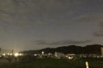 今年の中秋の名月は満月だが曇り!18時半から24時まで撮影ねばってみた!〜するとついに・・・雨雲からの満月の月が!〜