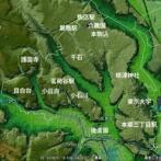 ※画像 東京の「地形地図」がヤバすぎる。なぜ文京区とか白金台とか目黒区が高級住宅地なのかがわかるな