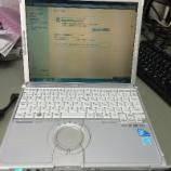 『ノートパソコンに力を入れる』の画像