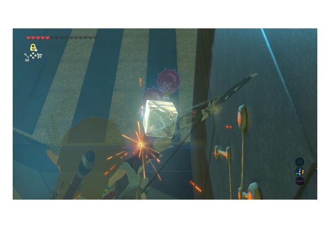 【ゼルダの伝説 ブレスオブザワイルド】オクタ風船でまた新しい謎解き方法みつかる