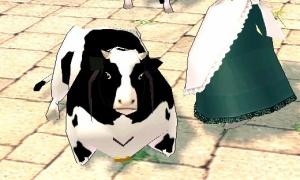 おのおの自分の乳牛を
