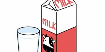 家族用と私用の牛乳を買ってくることになった。→1~2週間は何事も起きずに平気だった。だけど…